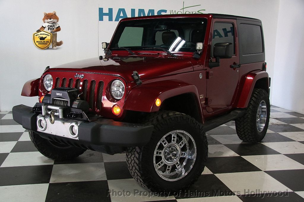 2013 used jeep wrangler 4wd 2dr sahara at haims motors ft lauderdale serving lauderdale lakes. Black Bedroom Furniture Sets. Home Design Ideas