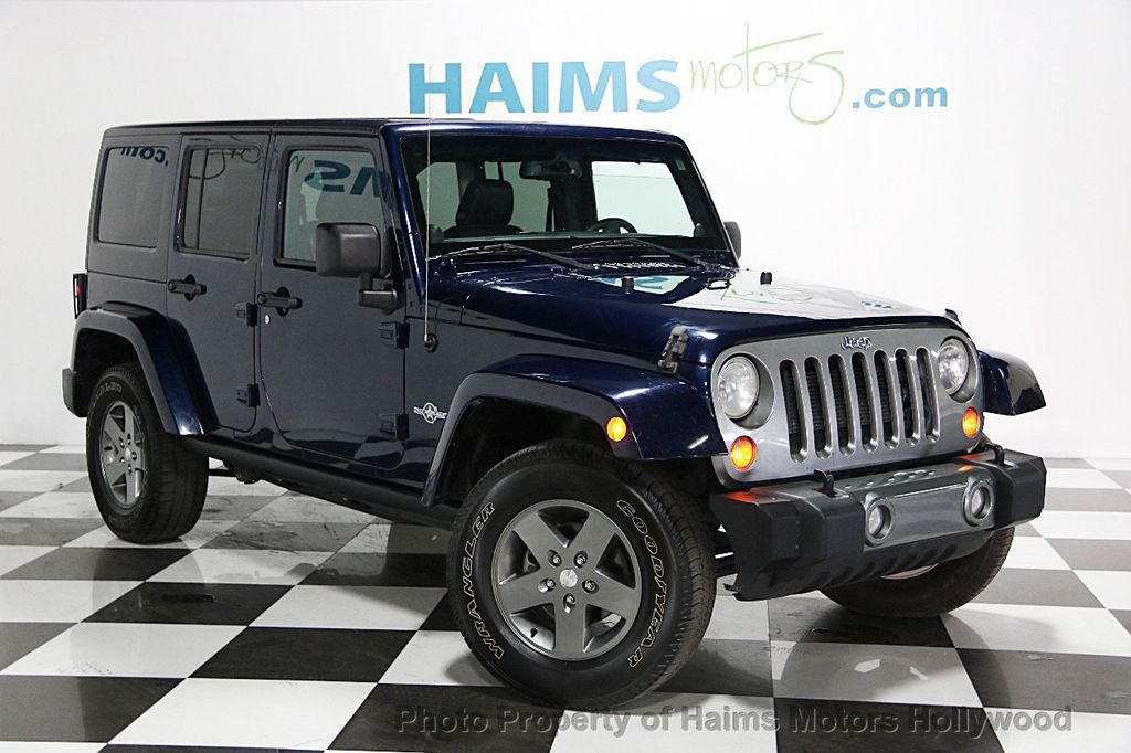 2013 Jeep Wrangler Unlimited 4WD 4dr Freedom Edition   15059453   2