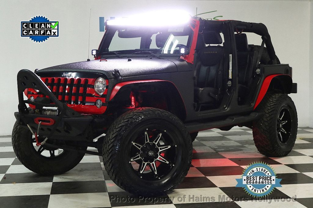 2013 Jeep Wrangler Unlimited 4WD 4dr Sahara - 17672235 - 0