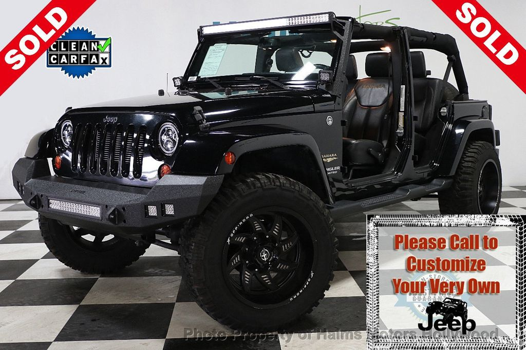 2013 Jeep Wrangler Unlimited 4WD 4dr Sahara - 17789598 - 0