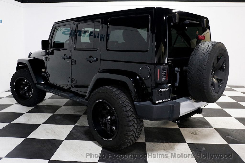 2013 Used Jeep Wrangler Unlimited 4wd 4dr Sahara At Haims