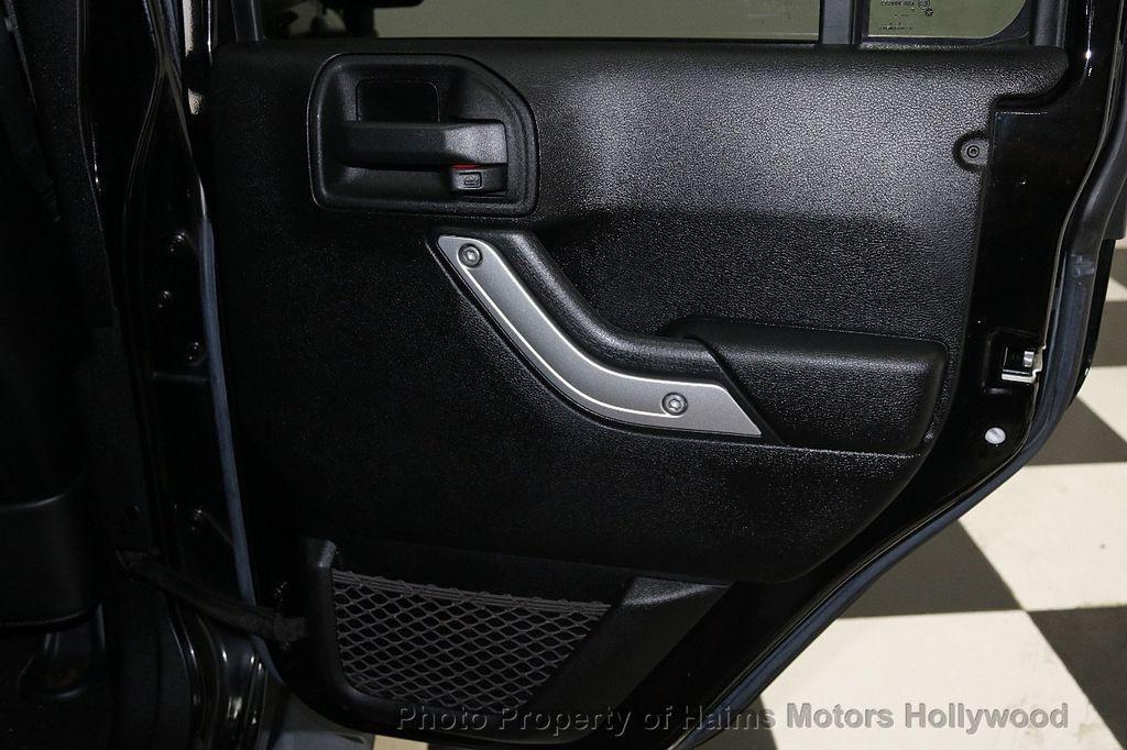 2013 Jeep Wrangler Unlimited 4WD 4dr Sahara - 17789598 - 25