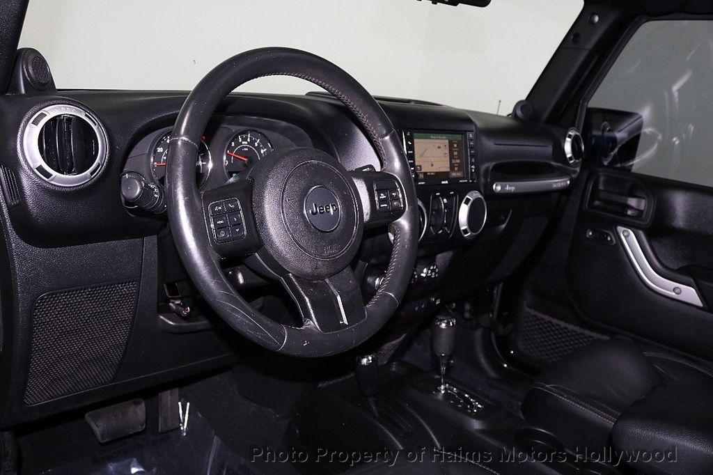2013 Jeep Wrangler Unlimited 4WD 4dr Sahara - 17789598 - 33