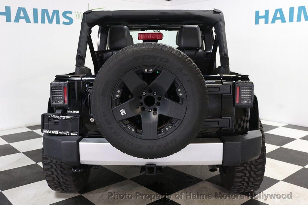 2013 Jeep Wrangler Unlimited 4WD 4dr Sahara - 17789598 - 7