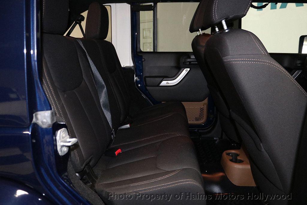 2013 Jeep Wrangler Unlimited 4WD 4dr Sahara - 18575378 - 24
