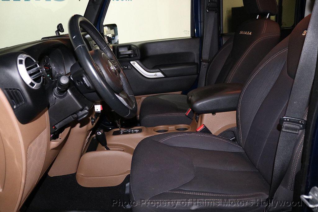2013 Jeep Wrangler Unlimited 4WD 4dr Sahara - 18575378 - 26