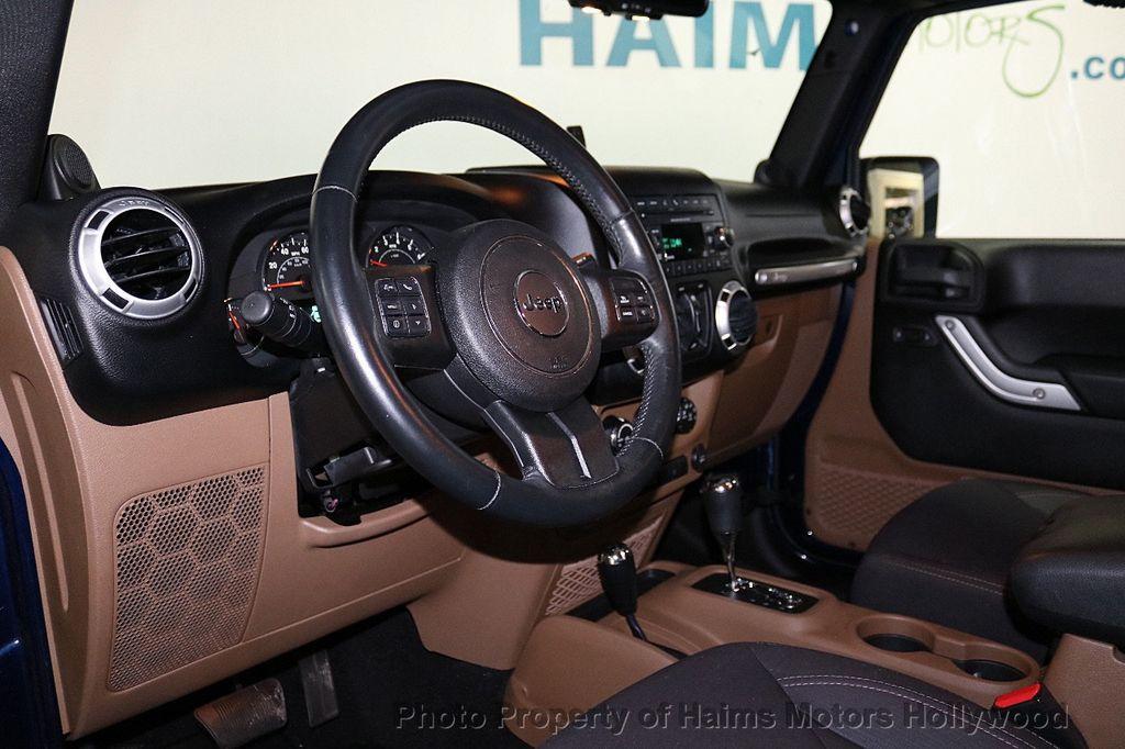 2013 Jeep Wrangler Unlimited 4WD 4dr Sahara - 18575378 - 27