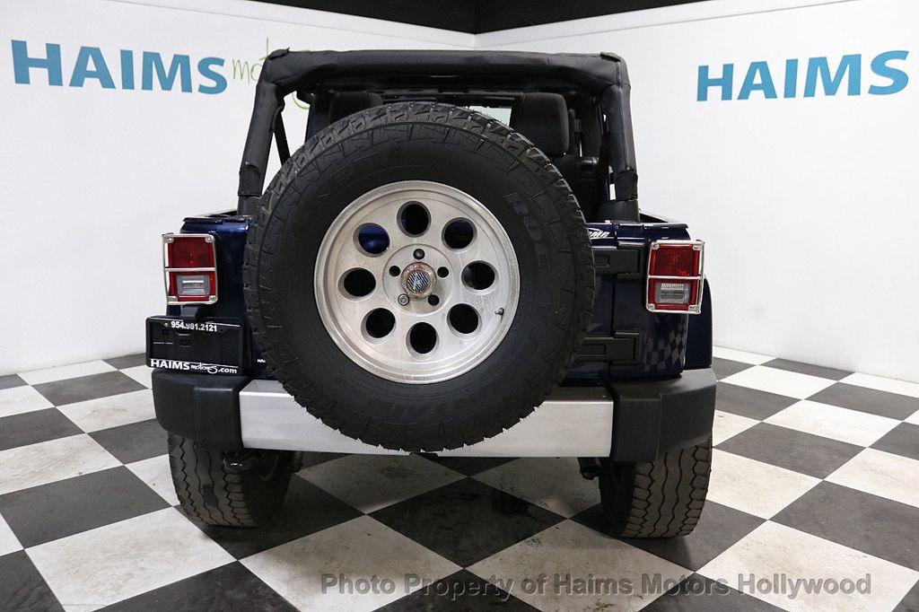 2013 Jeep Wrangler Unlimited 4WD 4dr Sahara - 18575378 - 5