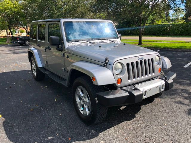 2013 Jeep Wrangler Unlimited 4WD 4dr Sahara - Click to see full-size photo viewer