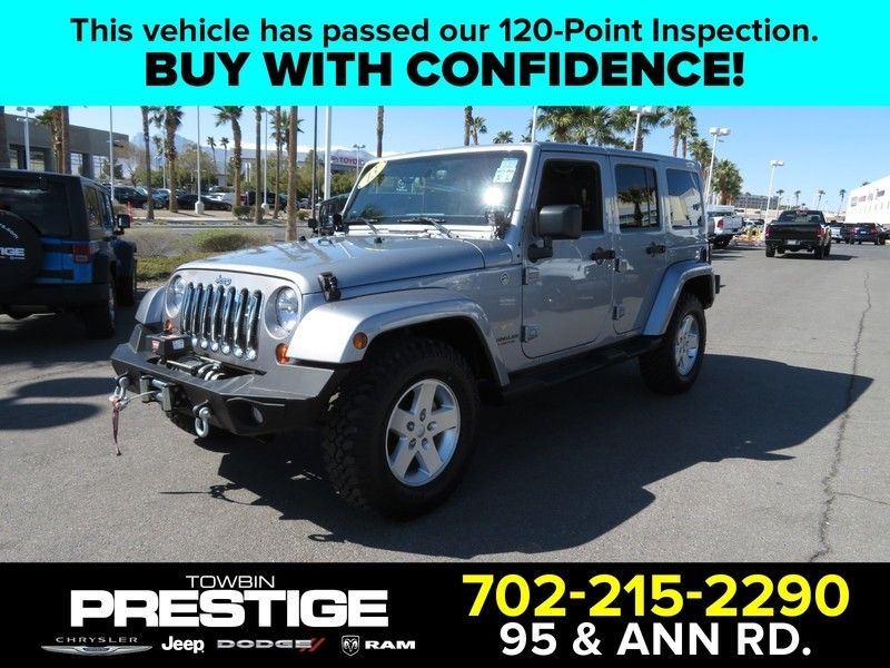 2013 Jeep Wrangler Unlimited 4WD 4dr Sahara - 17396055 - 0