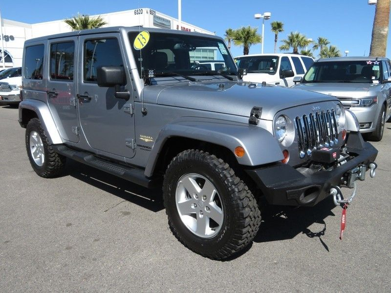 2013 Jeep Wrangler Unlimited 4WD 4dr Sahara - 17396055 - 2