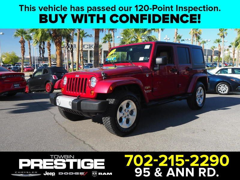 2013 Jeep Wrangler Unlimited 4WD 4dr Sahara - 18059123 - 0