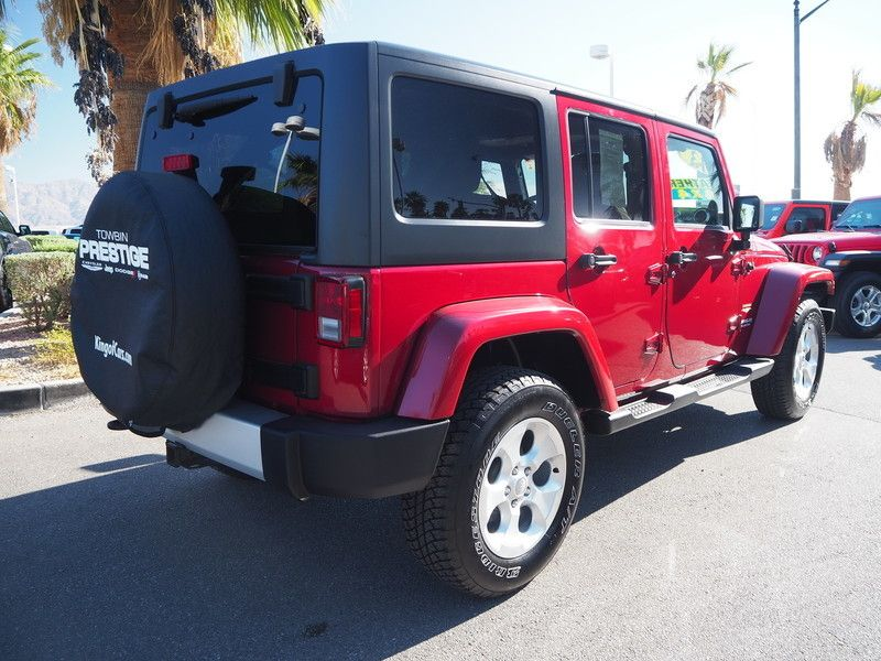 2013 Jeep Wrangler Unlimited 4WD 4dr Sahara - 18059123 - 11