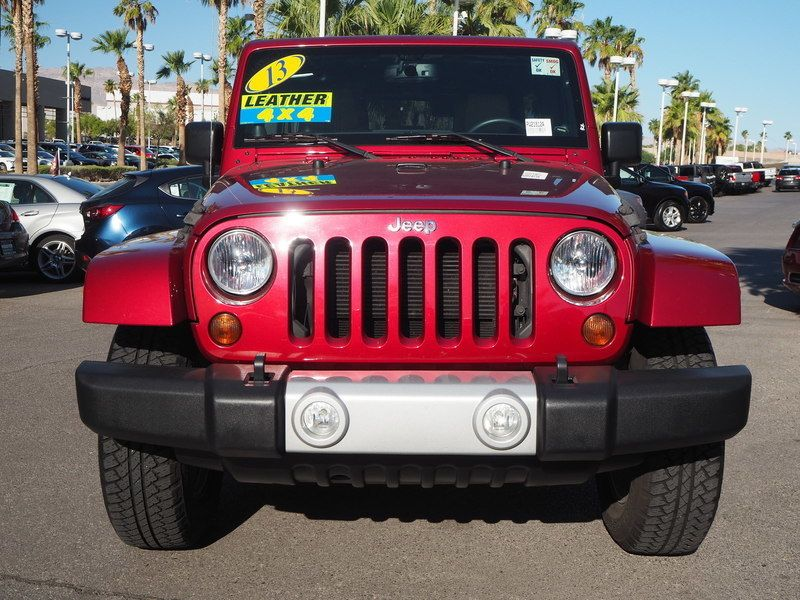 2013 Jeep Wrangler Unlimited 4WD 4dr Sahara - 18059123 - 1