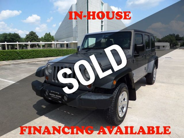 2013 Jeep Wrangler Unlimited 4WD 4dr Sport RHD
