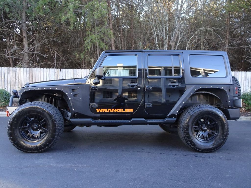 Jeep Wrangler Wheels >> 2013 Used Jeep Wrangler Unlimited Lifted Wheels Winch Gorgeous At Michs Foreign Cars Serving Hickory Nc Iid 19667868