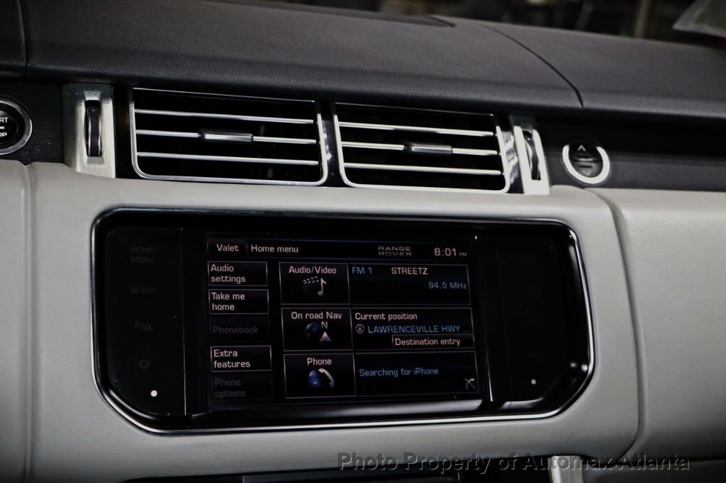 2013 Land Rover Range Rover NAVIGATION AND BACK UP CAMERA  - 18311761 - 17