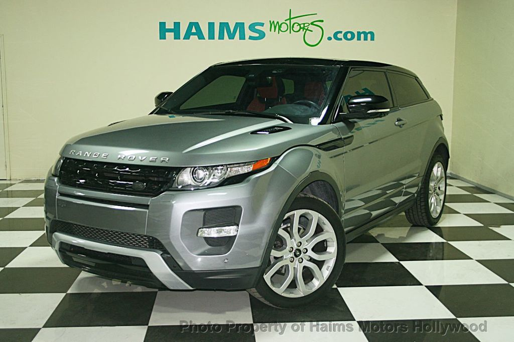 2013 Used Land Rover Range Rover Evoque 2dr Coupe Dynamic ...