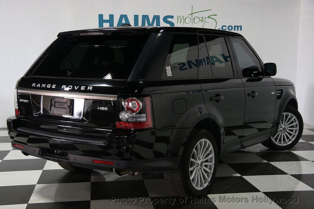 2013 used land rover range rover sport 4wd 4dr hse at haims motors serving fort lauderdale. Black Bedroom Furniture Sets. Home Design Ideas