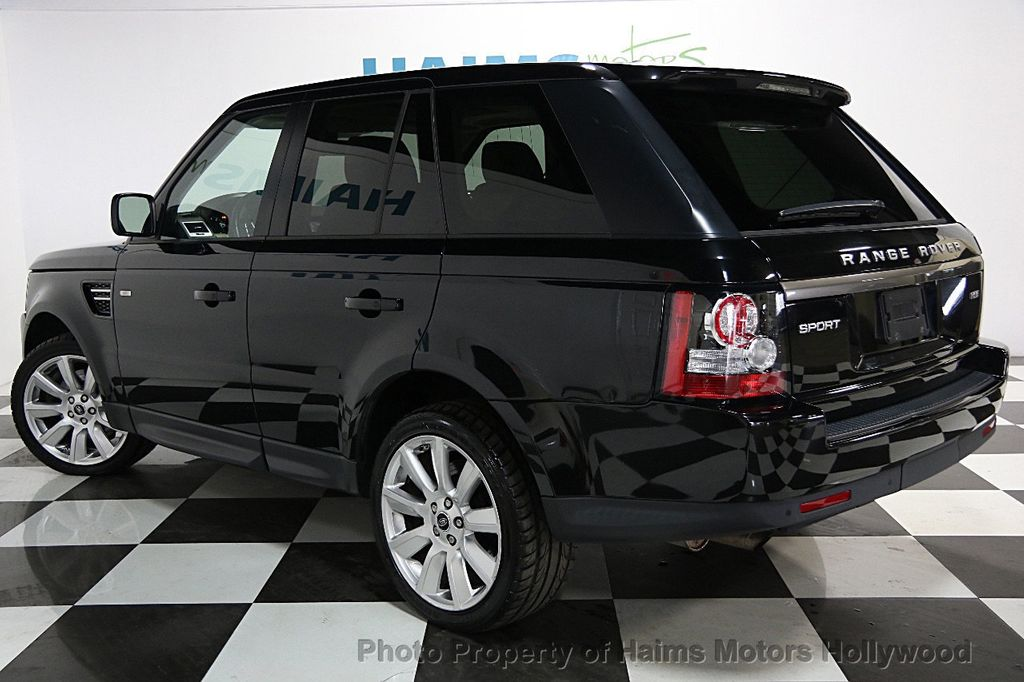 2013 used land rover range rover sport 4wd 4dr hse at haims motors hollywood serving fort. Black Bedroom Furniture Sets. Home Design Ideas