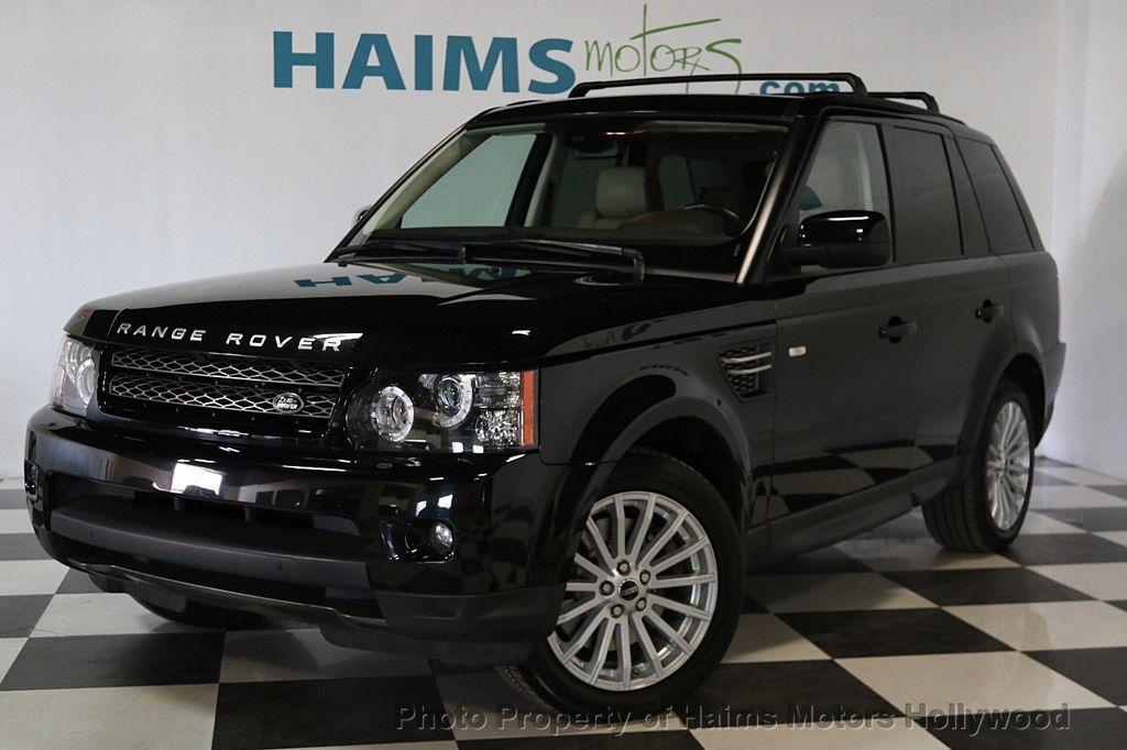 2013 Used Land Rover Range Rover Sport 4WD 4dr HSE at Haims Motors ...