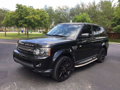 2013 Land Rover Range Rover Sport 4WD 4dr HSE LUX SUV