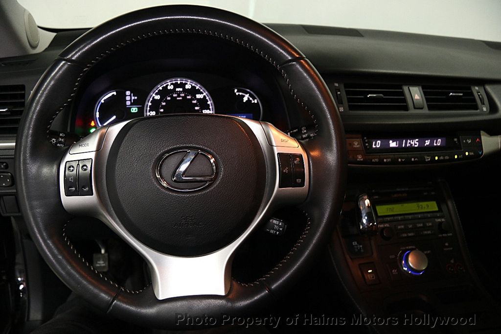 Amazing 2013 Lexus CT 200h 5dr Sedan Hybrid   15881743   24