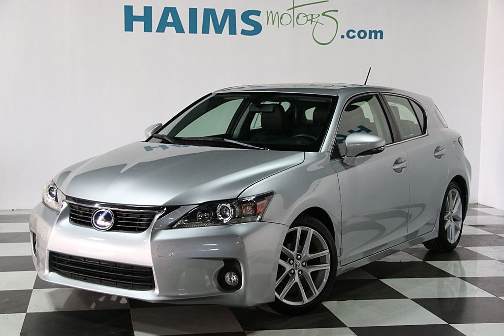 Great 2013 Lexus CT 200h 5dr Sedan Hybrid   15688989   0