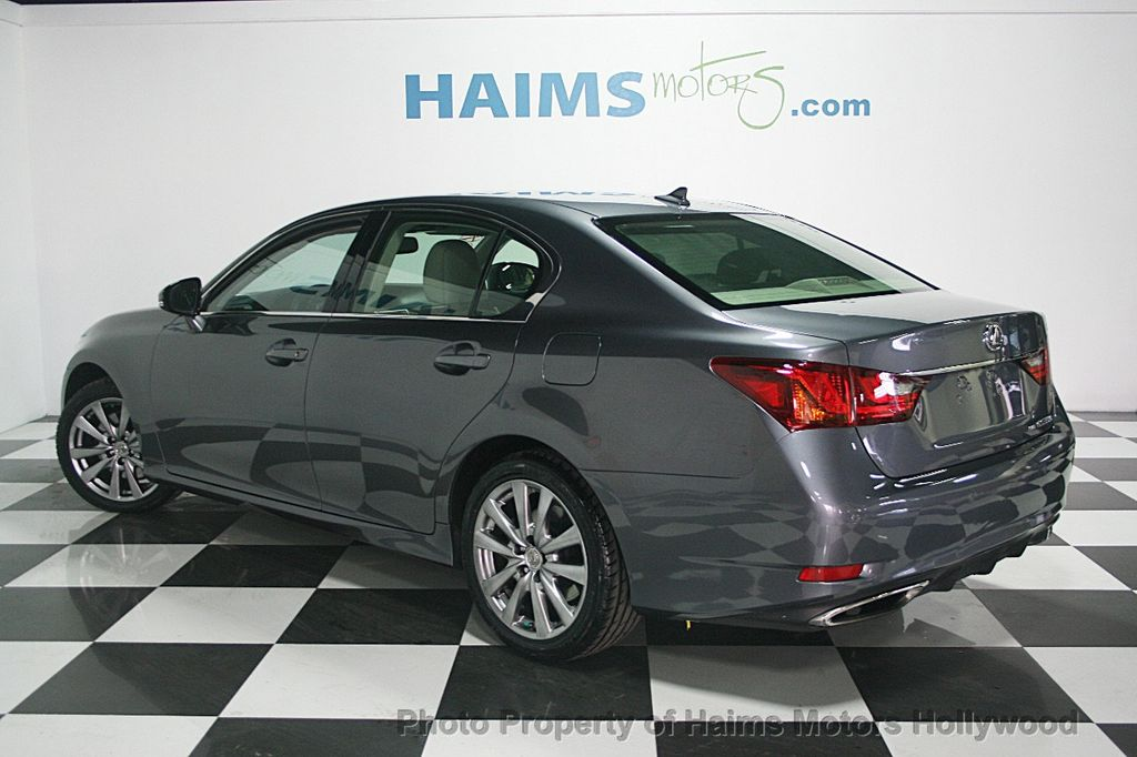 2013 used lexus gs 350 4dr sedan awd at haims motors serving fort lauderdale hollywood miami. Black Bedroom Furniture Sets. Home Design Ideas
