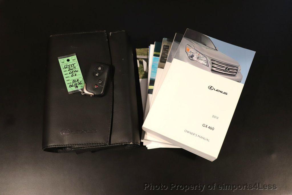 2013 Lexus GX 460 CERTIFIED GX460 4WD 7 PASSENGER NAV CAM - 18545385 - 43