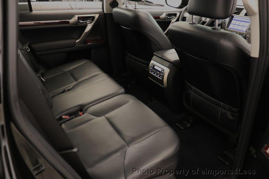 2013 Lexus GX 460 CERTIFIED GX460 4WD 7 PASSENGER NAV CAM - 18545385 - 53