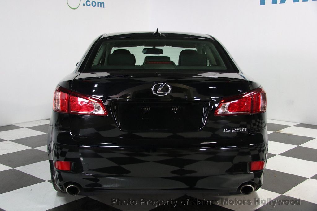 2013 Lexus IS 250 4dr Sport Sedan Automatic RWD   16108942   4