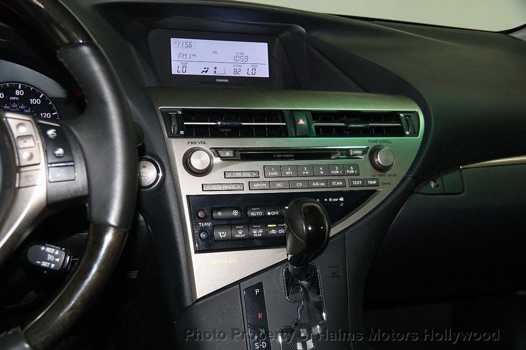 2013 Lexus RX 350 FWD 4dr - 18011830 - 20