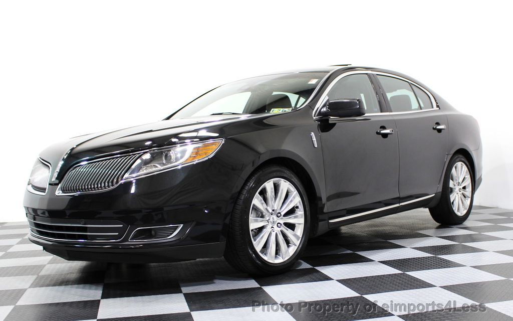 2013 Lincoln MKS CERTIFIED MKS AWD PANO adapt cruise BLIND SPOT nav - 16818420 - 13