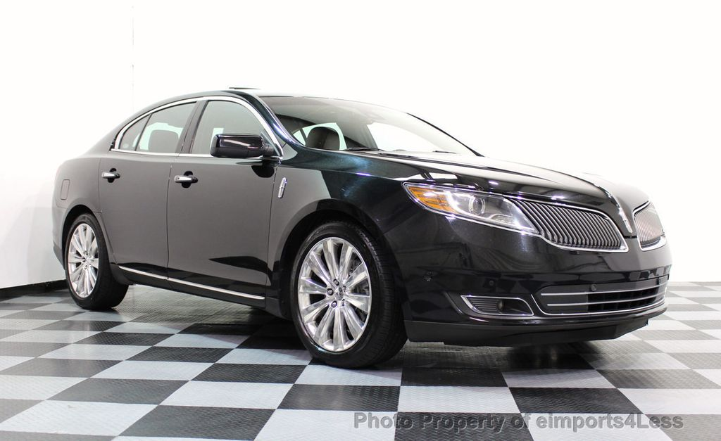 2013 Lincoln MKS CERTIFIED MKS AWD PANO adapt cruise BLIND SPOT nav - 16818420 - 1