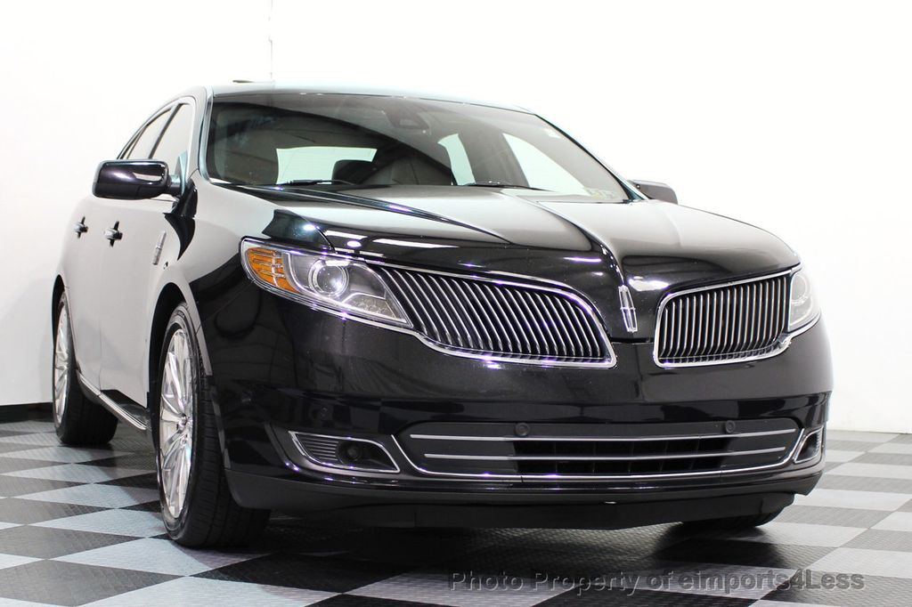 2013 Lincoln MKS CERTIFIED MKS AWD PANO adapt cruise BLIND SPOT nav - 16818420 - 29