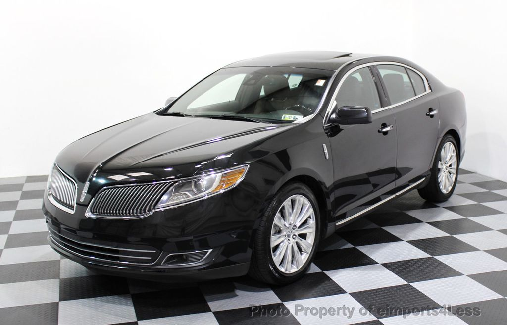 2013 Lincoln MKS CERTIFIED MKS AWD PANO adapt cruise BLIND SPOT nav - 16818420 - 42