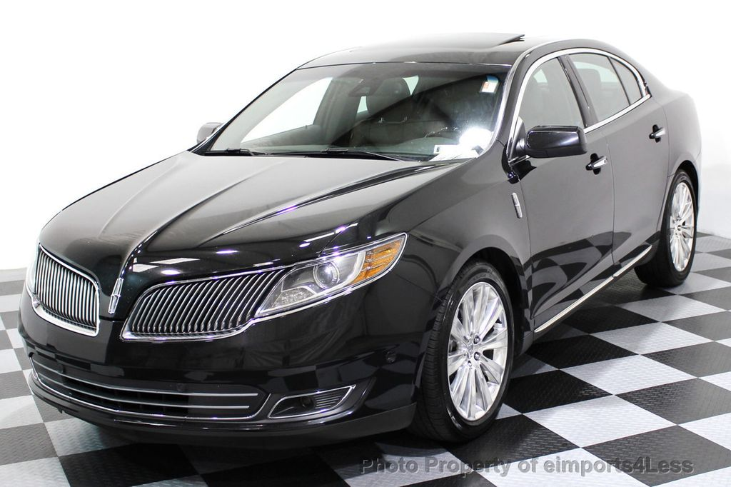 2013 Lincoln MKS CERTIFIED MKS AWD PANO adapt cruise BLIND SPOT nav - 16818420 - 46