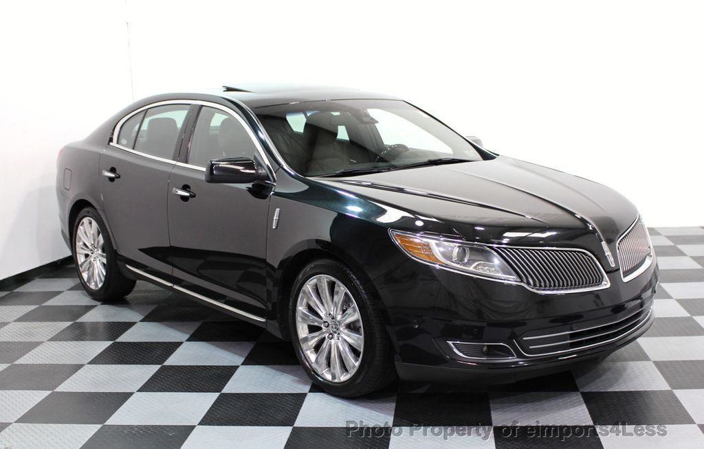 2013 Lincoln MKS CERTIFIED MKS AWD PANO adapt cruise BLIND SPOT nav - 16818420 - 47