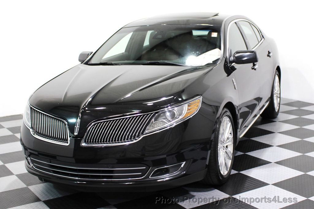 2013 Lincoln MKS CERTIFIED MKS AWD PANO adapt cruise BLIND SPOT nav - 16818420 - 50
