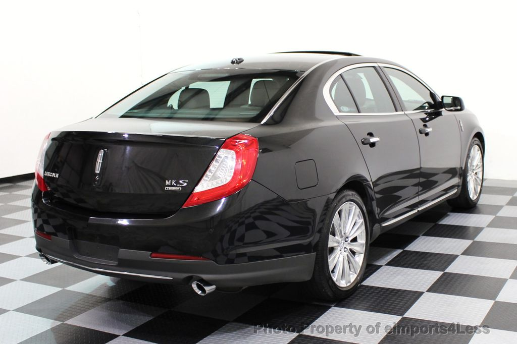 2013 Used Lincoln Mks Certified Mks Awd Pano Adapt Cruise Blind Spot