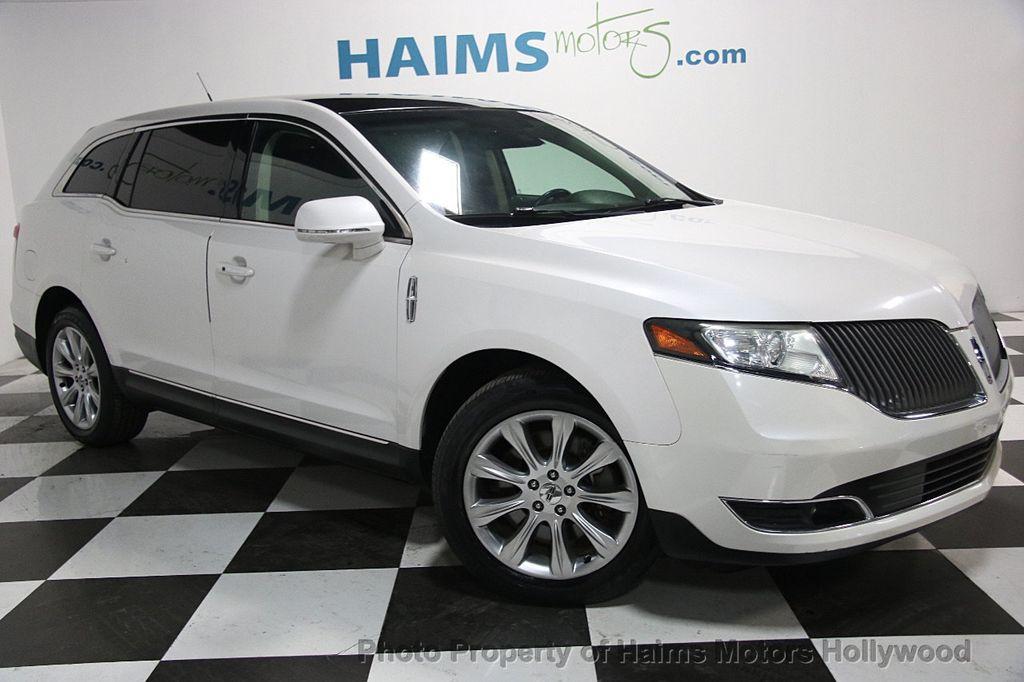 2013 Used Lincoln MKT 4dr Wagon 3.7L FWD at Haims Motors Hollywood ...
