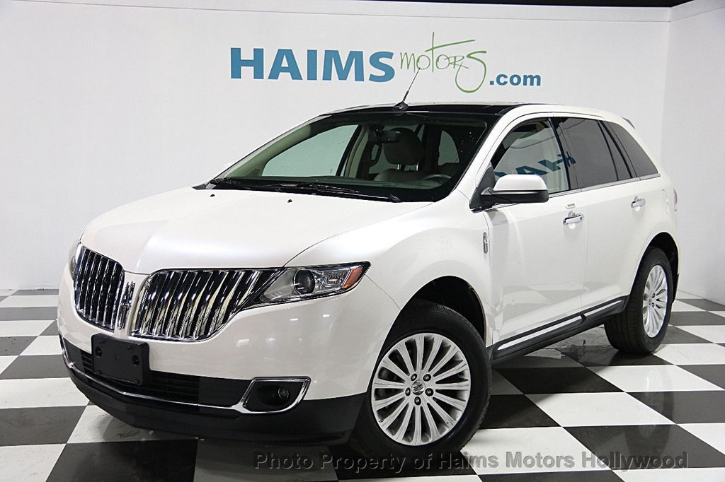 2013 used lincoln mkx awd 4dr at haims motors serving fort. Black Bedroom Furniture Sets. Home Design Ideas