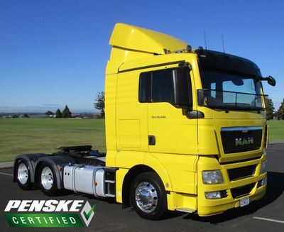 2014 Used MAN TGS 26 480 L Cab at Penske New Zealand Serving Mt