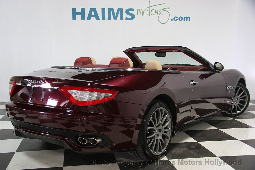 2013 Used Maserati GranTurismo Convertible Base at Haims Motors ...