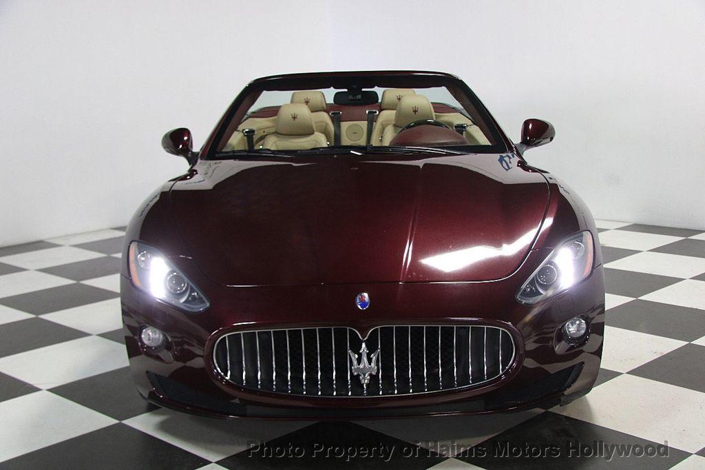 2013 Used Maserati GranTurismo Convertible Base at Haims Motors Serving Fort Lauderdale ...