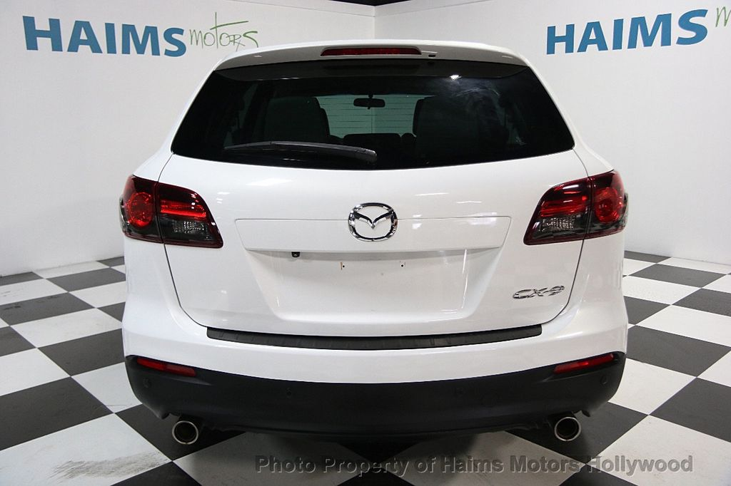2013 used mazda cx 9 fwd 4dr touring at haims motors serving fort lauderdale hollywood miami. Black Bedroom Furniture Sets. Home Design Ideas