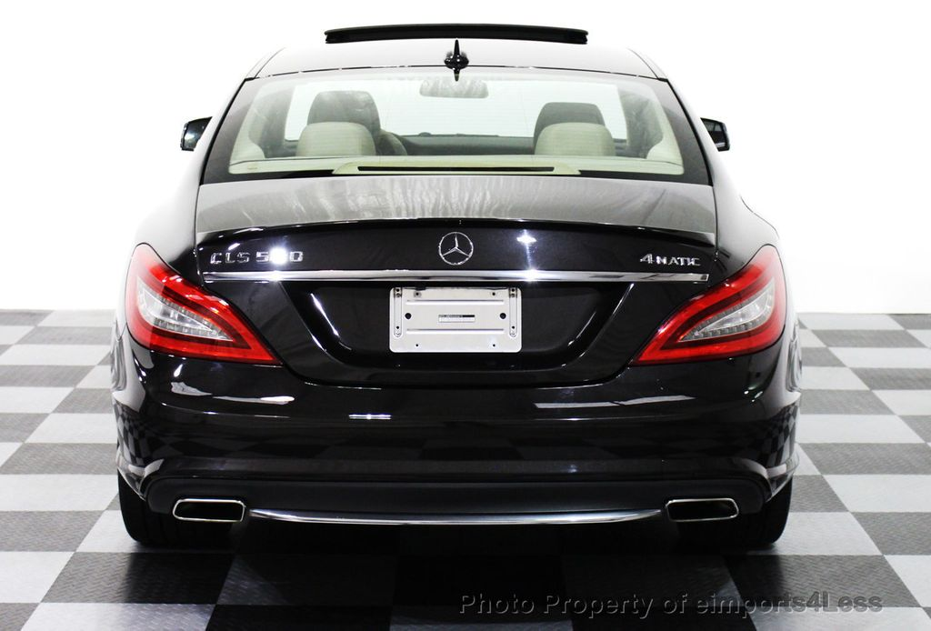 2013 used mercedes benz cls certified cls550 4matic awd for Mercedes benz cls used