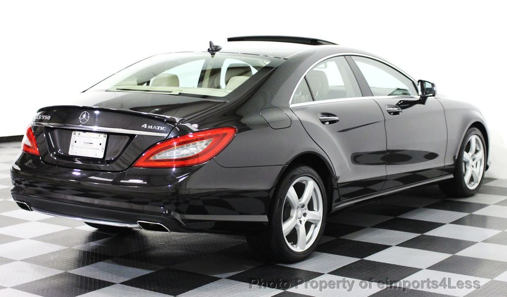 2013 used mercedes benz cls certified cls550 4matic awd for 2013 mercedes benz cls550 for sale