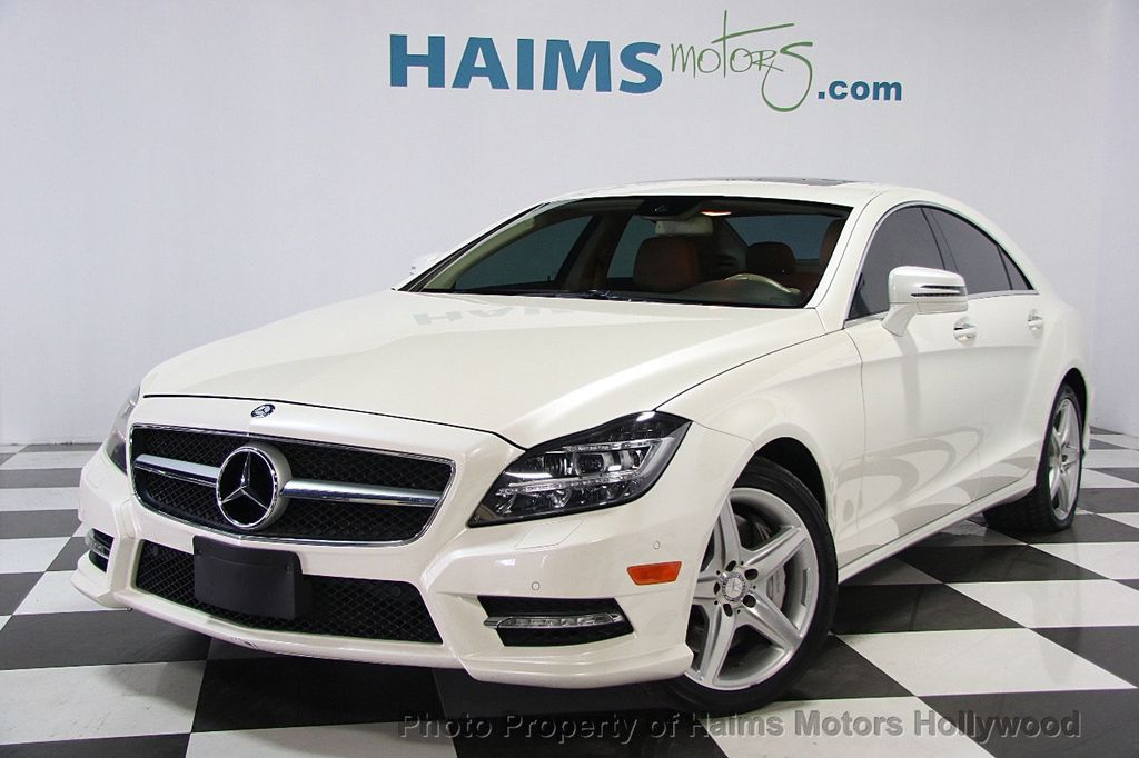 2013 used mercedes benz cls cls550 at haims motors ft for Mercedes benz cls550 used